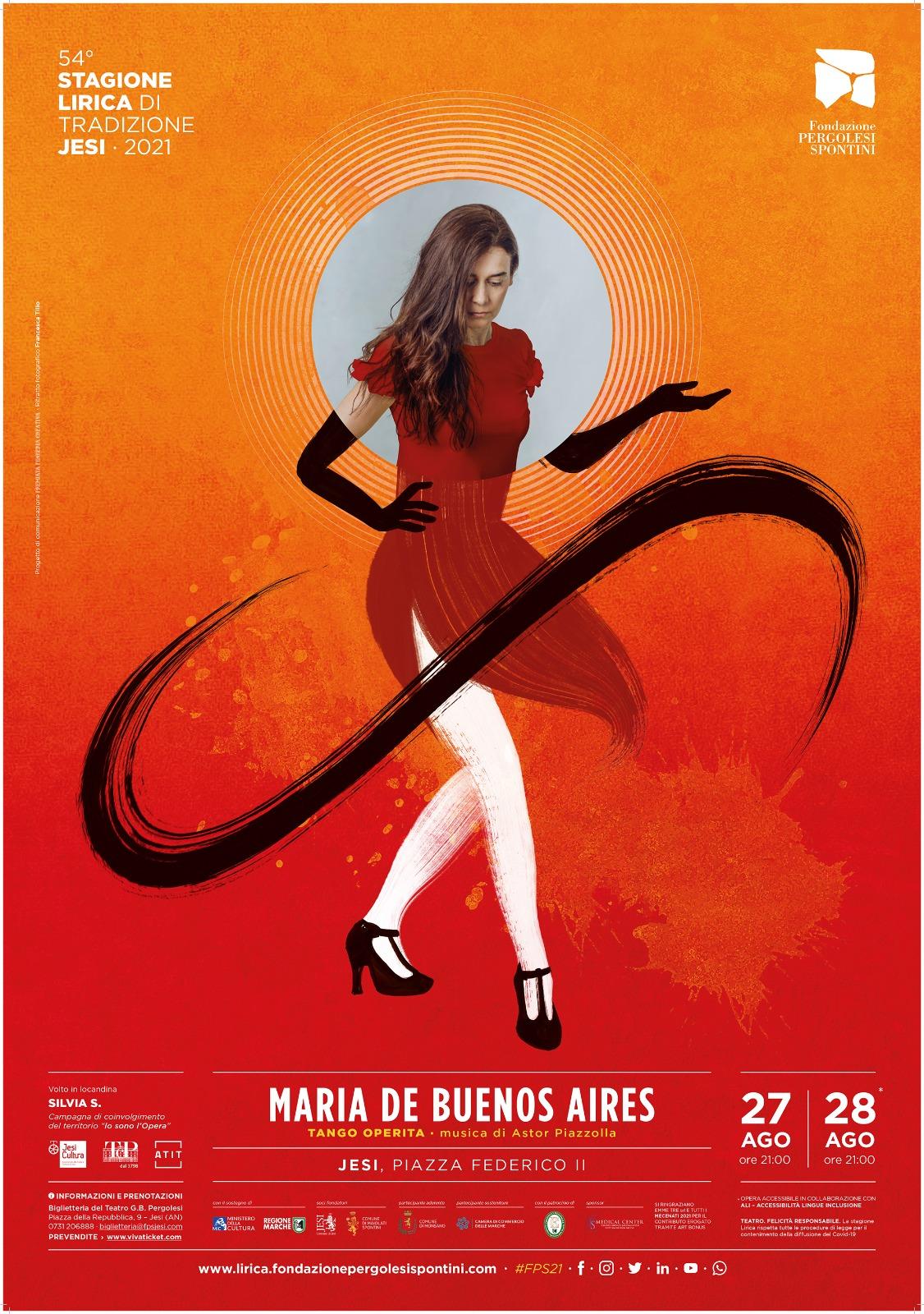 Manifesto_lirica_jesi_2021_silvia_segnan_per_maria_de_buenos_aires
